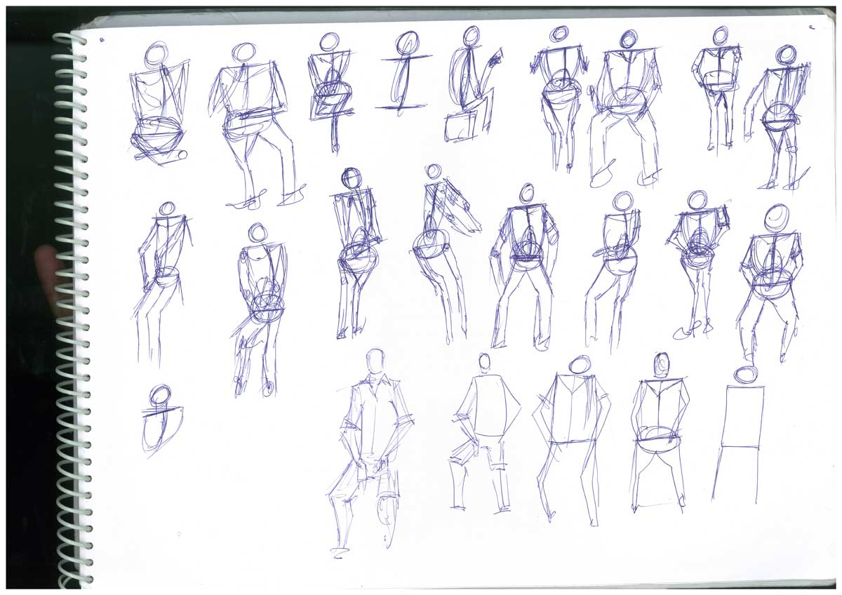 Live Sketching - Student Activities Image 1