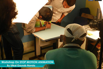 Stop Motion Workshop - ZICA Bhubaneswar