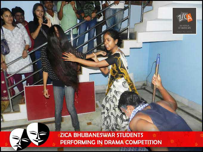 ZICA Bhubaneswar Student Performing In Drama Compettion - Image 5