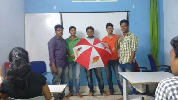 ZICA Bhubaneswar Student activity - Umbrella Painting Image 10