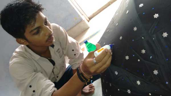 ZICA Bhubaneswar Student activity - Umbrella Painting Image 5