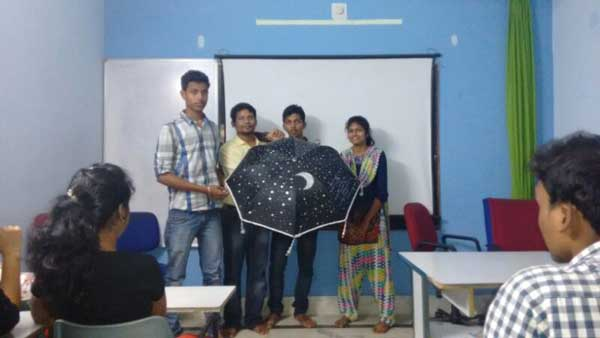 ZICA Bhubaneswar Student activity - Umbrella Painting Image 9