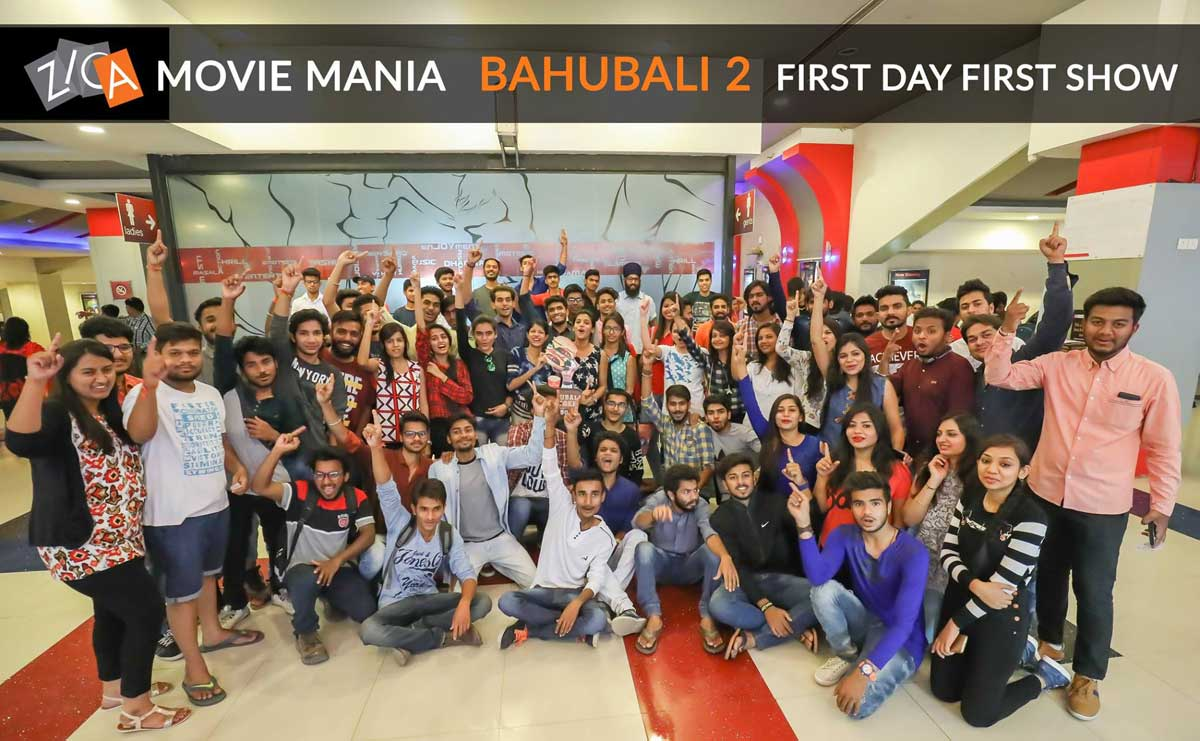 Bhahubali 2 First day first Show - ZICA INDORE