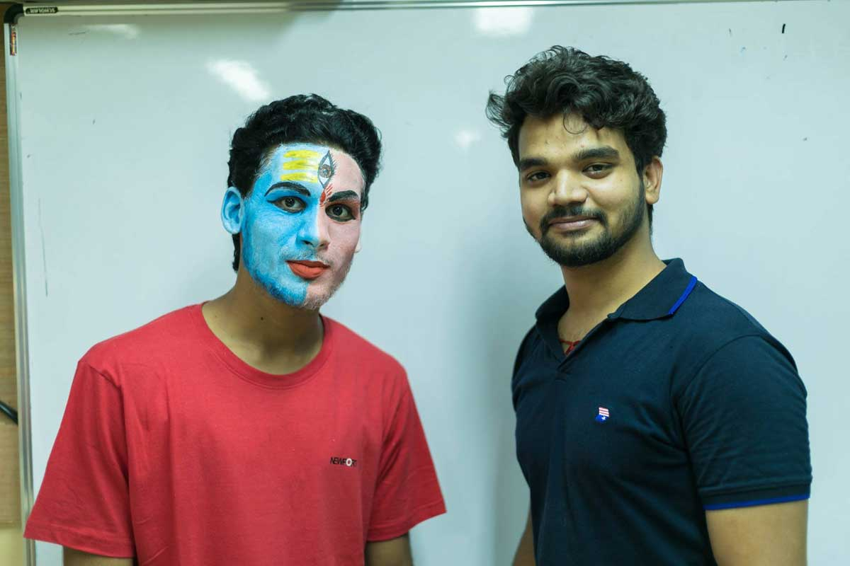 ZICA INDORE - Student Activities Face Painting 3
