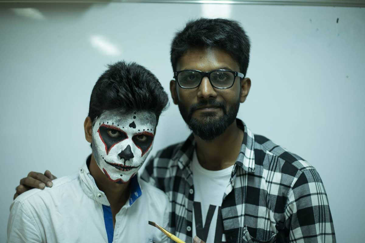 ZICA INDORE - Student Activities Face Painting 5