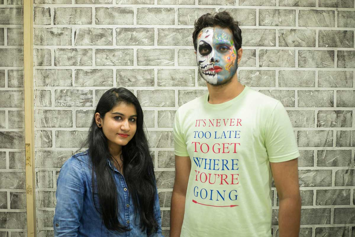 ZICA INDORE - Student Activities Face Painting 7