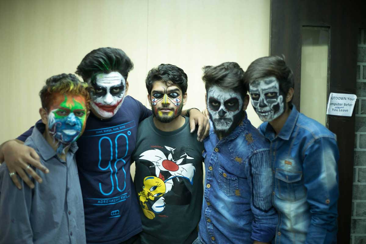 ZICA INDORE - Student Activities Face Painting 8