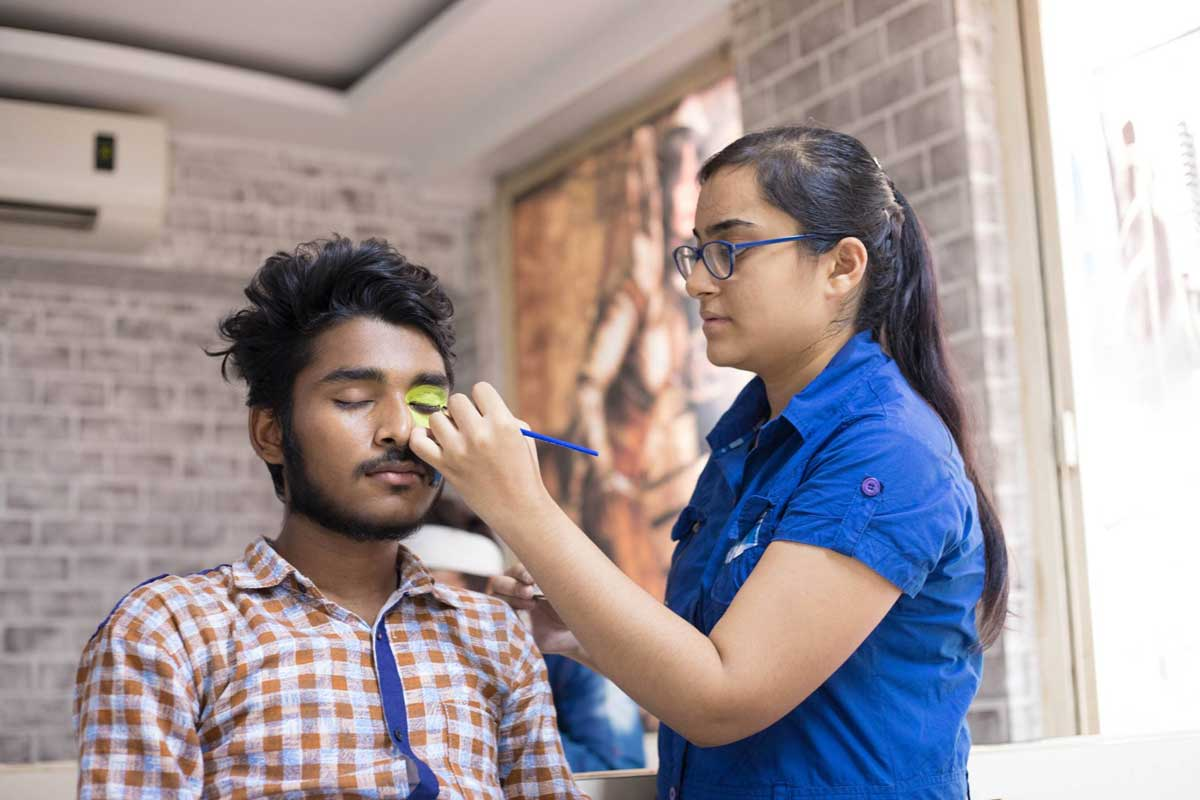 ZICA INDORE - Student Activities Face Painting 9