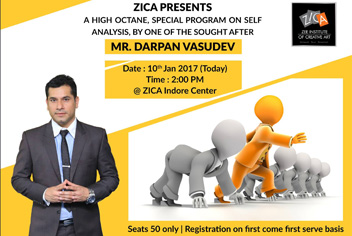 Meaningful Session on Self Analysis By Mr. Darpan Vasudev - ZICA INDORE