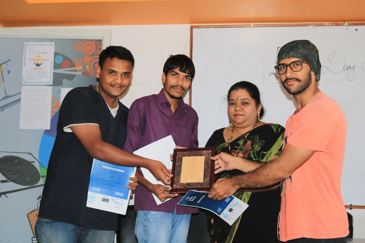 ZICA MALLESHWARAM - Awards Acheivement Image 8