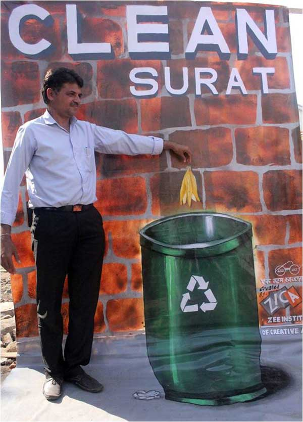 3D Painting of Clean Surat