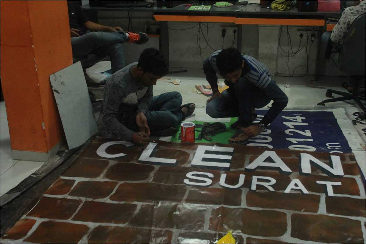 3D Painting of Clean Surat Image 3