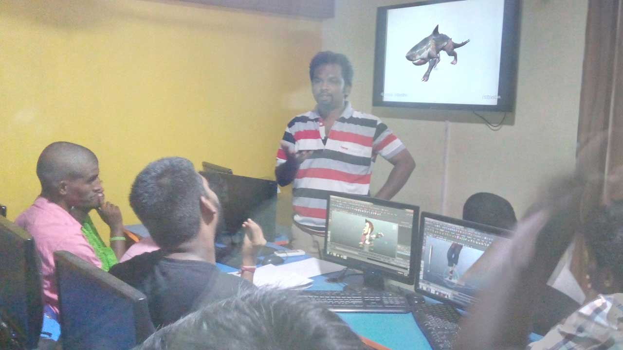 Expert lecture on Maya