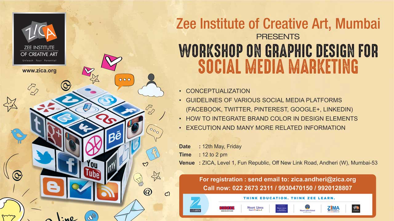 ZICA Workshop on Graphic Design for Social Media Marketing