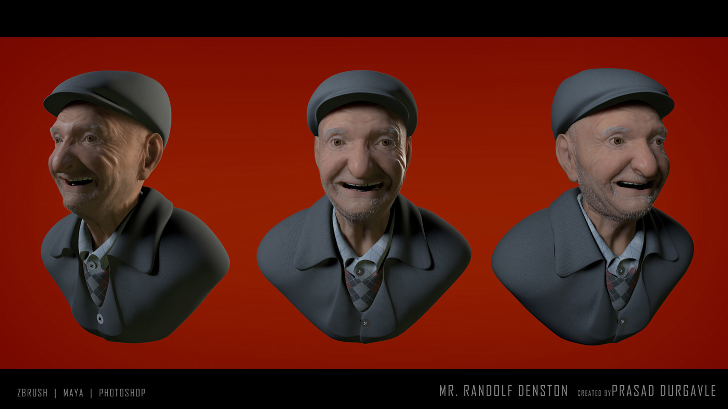 MR. RANDOLF DELSTON 3D ANIMATION BY PRASAD DURGAVLE