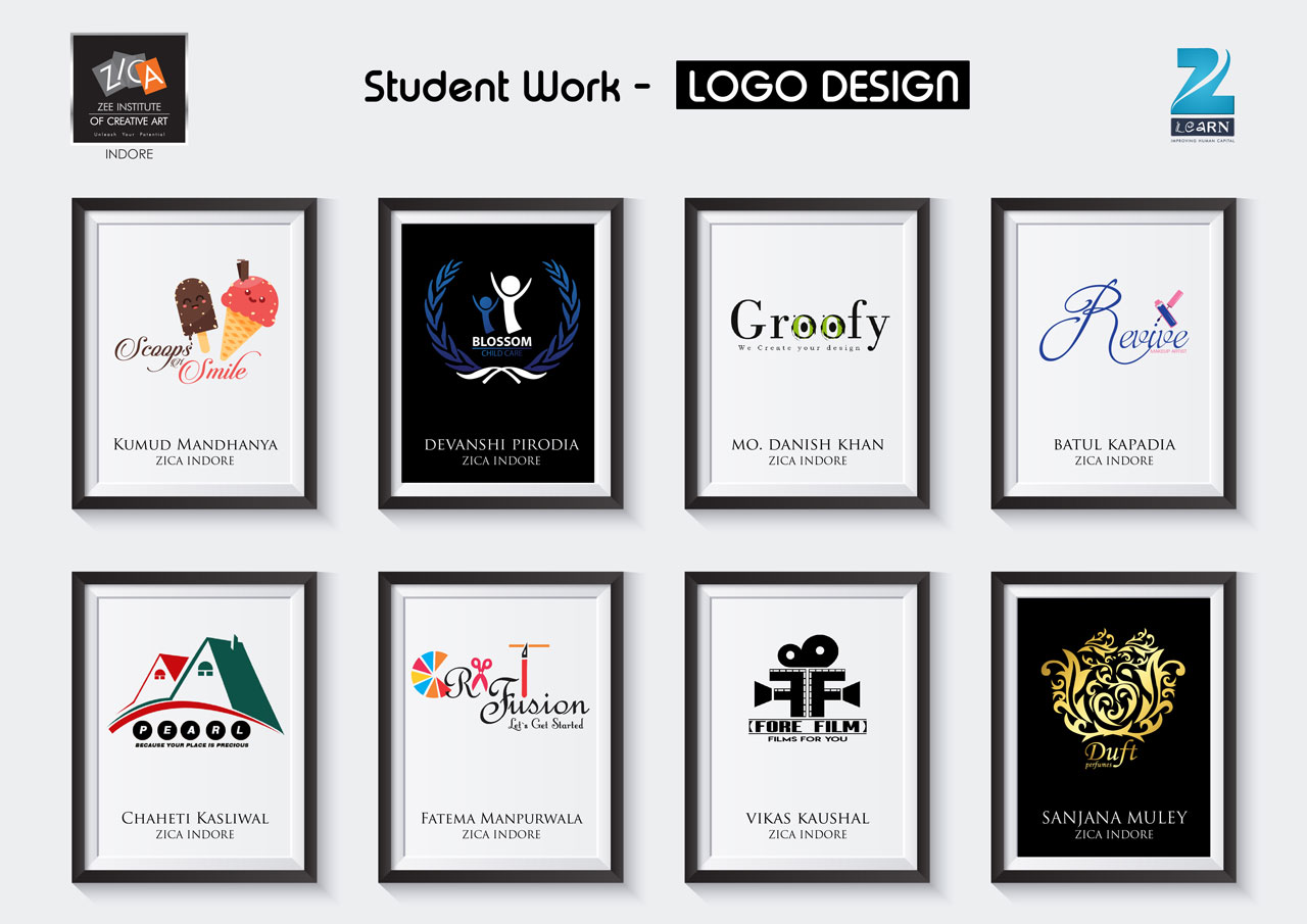 Student work -Logo Design